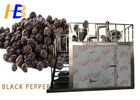 Black Pepper Food Pulverizer Machine With Human Oriented Electric Control Box