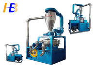 Blue Terephthalate PET Grinder Machine With Mesh / Micron Size Space - Saving Design