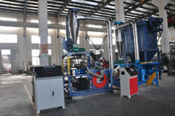 China Low Consumption Plastic Pulverizer Machine With Feeding Equipment , Blades factory