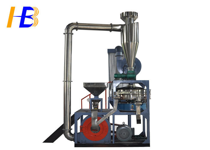 High Capacity Ultra Fine SBR Tire Recycling Machine With 20 - 60 Mesh Powder