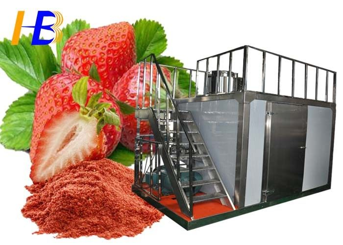 Stainless Steel Food Pulverizer Machine For Strawberry Powder 10 - 700 Mesh Size