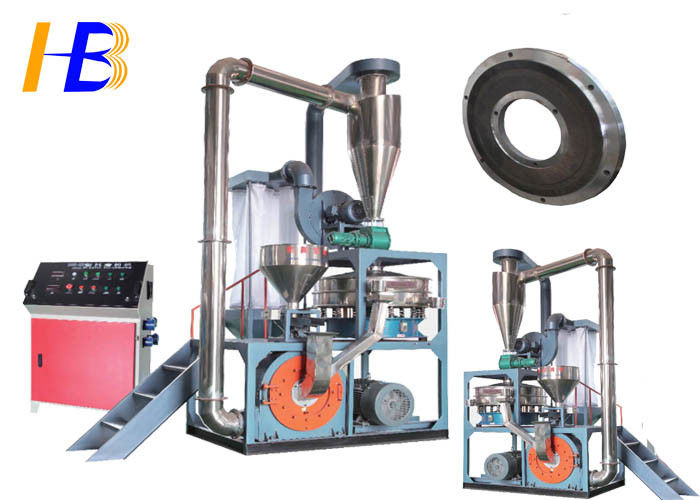 Reduce Wastage Synthetic Rubber Tire Grinder , PEC Fine Powder Rubber Grinding Equipment
