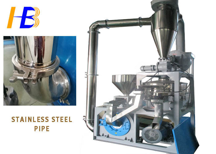 Space Saving GPPS Plastic Grinding Machine With Dust Collecting Device