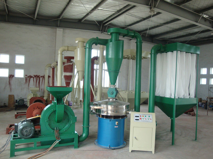 Low Noise PVC Pulverizer Machine For Medium Hard Friable Materials