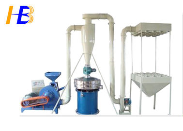 Automatic SBR Shoe Rubber Grinding Machine With 30 Mesh Rubber Powder 45kw