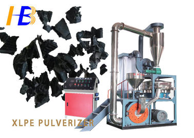 China Space Saving Cable Waste Plastic Crushing Machine , XLPE Plastic Scrap Grinder Machine factory